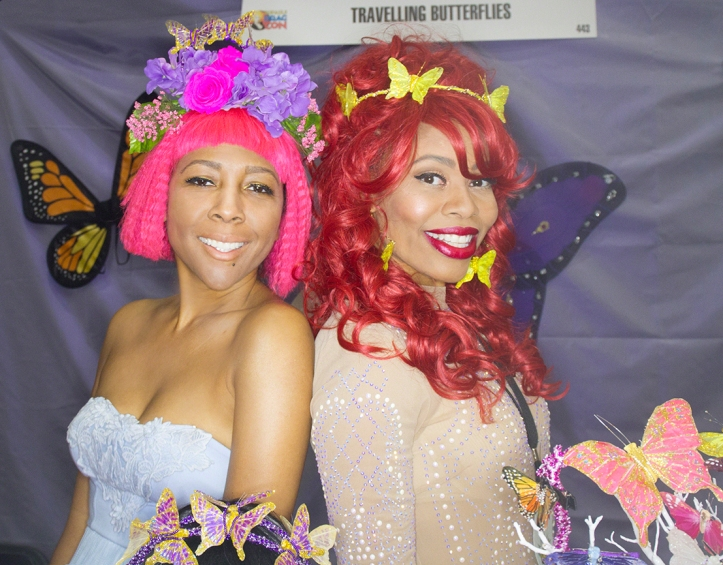 Travelling Butterflies at Drag Con 2017