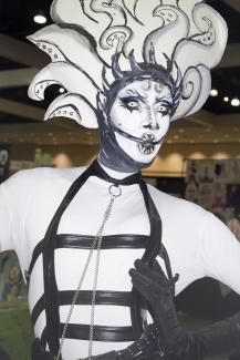 Nina Bonina Brown at Drag Con 2017