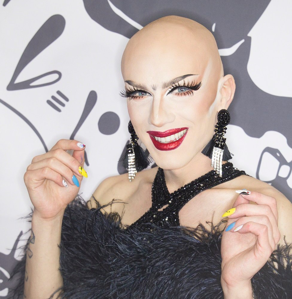 Sasha Velour at Drag Con 2017