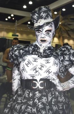 India Ferrah at Drag Con 2017
