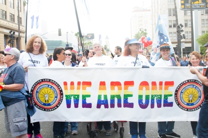 We are One LA Resist March 2017