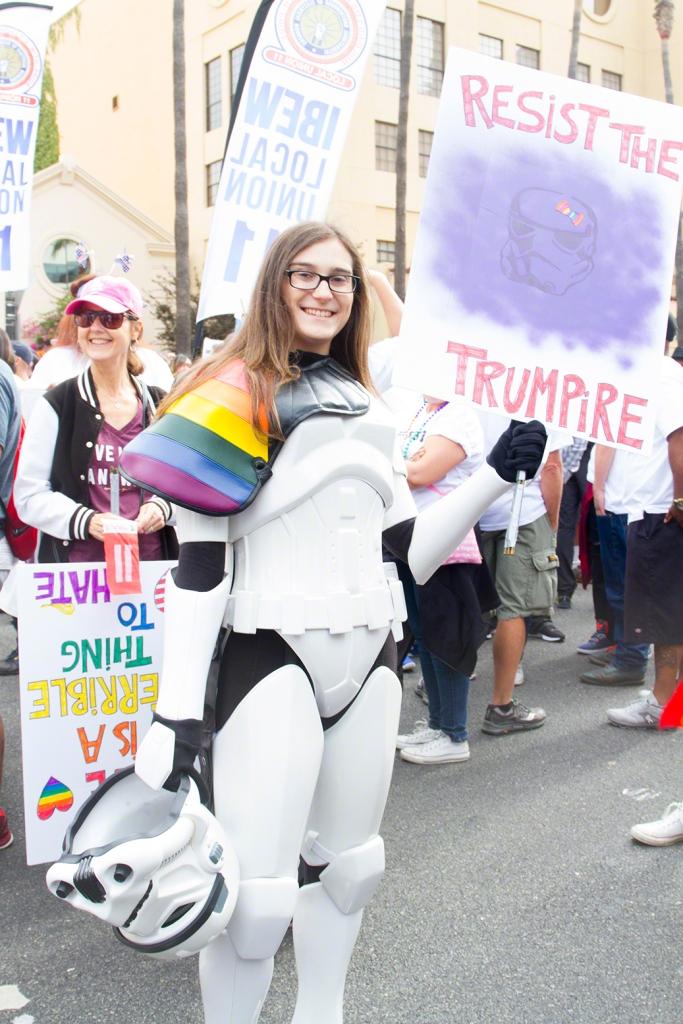 Resist the Trumpire -LA Resist March 2017