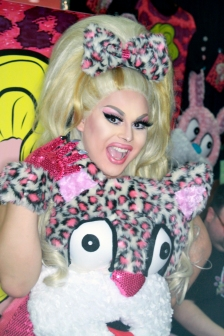 Jaymes Mansfield at Drag Con 2017 Los Angeles
