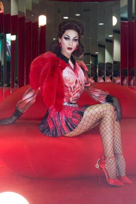 Violet Chachki at Drag Con 2017 Los Angeles